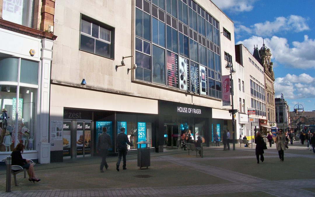 """WE'RE ALL DOOMED!  IS HOUSE OF FRASER THE TIPPING POINT FOR PRIDE IN OUR TOWN CENTRES?"